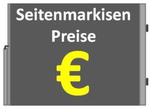 Seitenmarkisen Preise